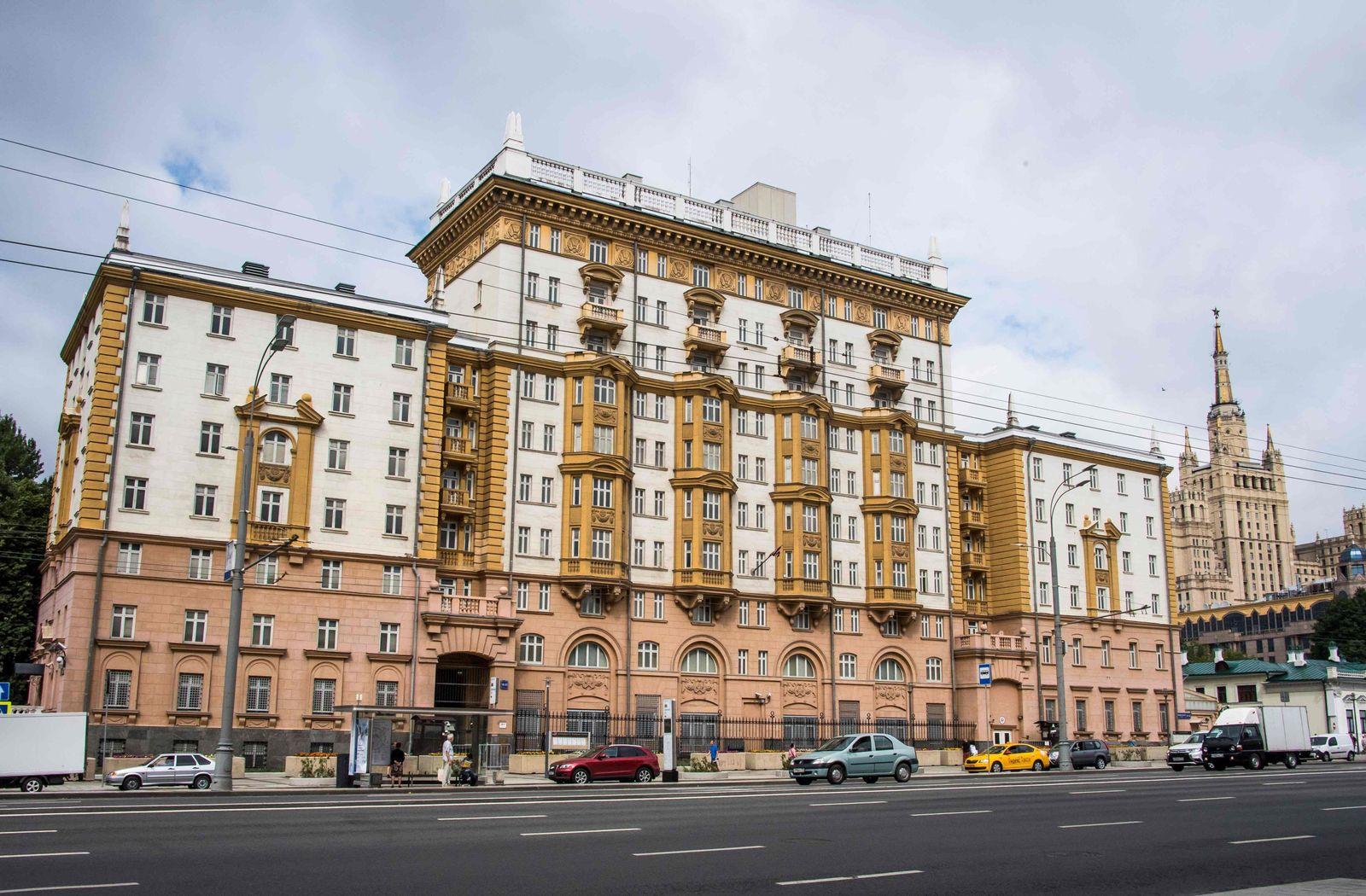 US-Botschaft/ Moskau