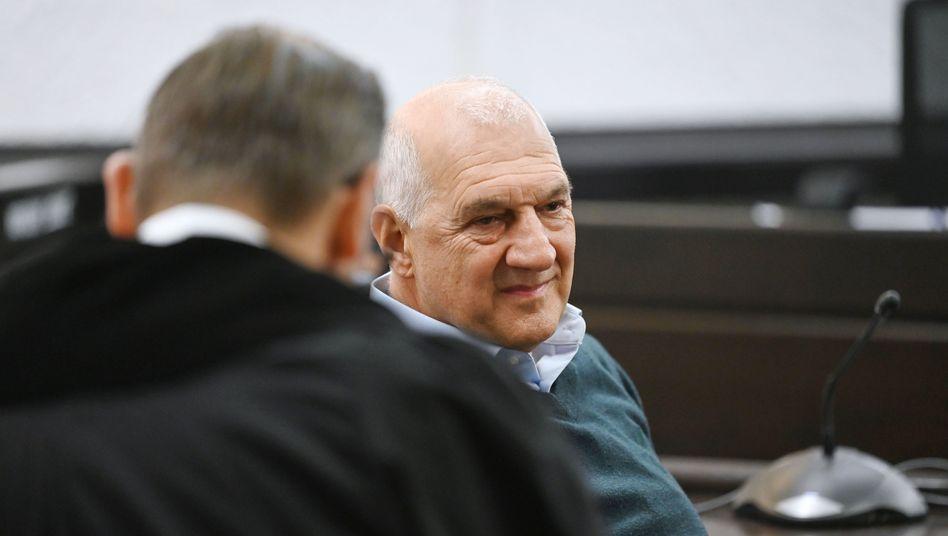 Willi Balz im Stuttgarter Landgericht