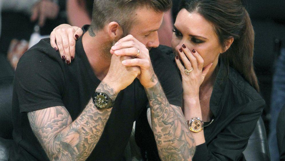 """Victoria und David Beckham: """"Kiss Me!"""""""