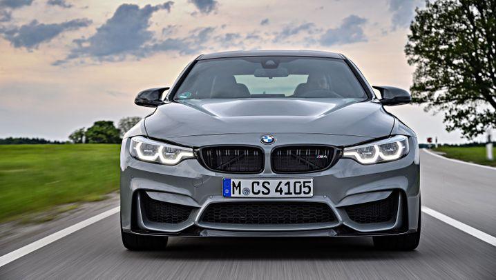 Autogramm BMW M4 CS: Schlichter rasen