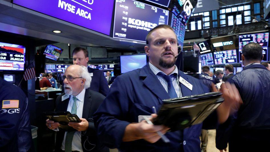 New York Stock Exchange in New York