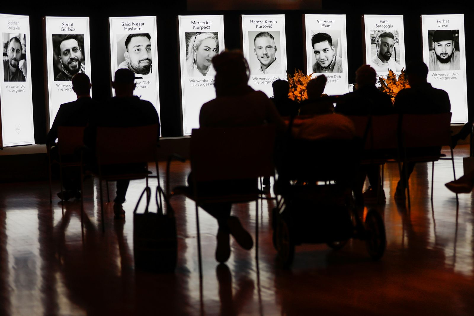 Hanau commemorates victims one year after shooting