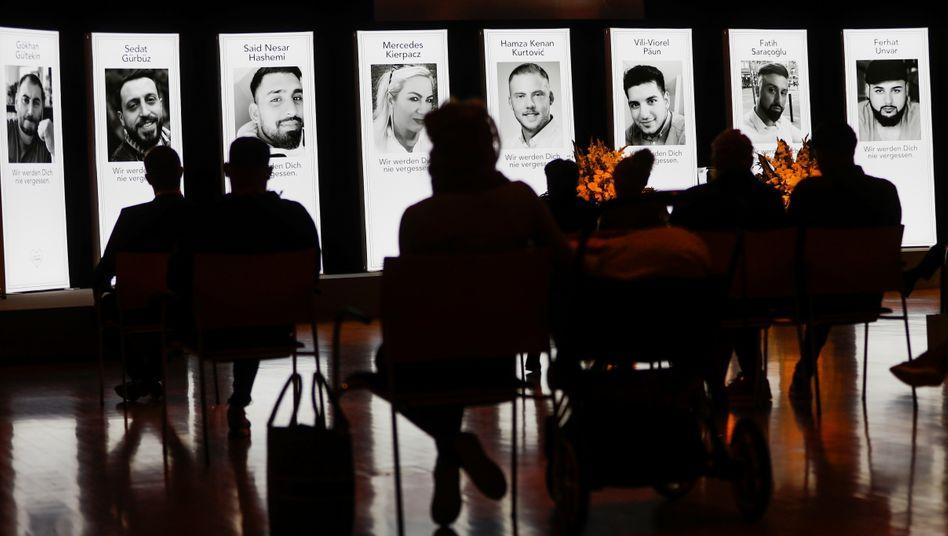 Gedenken an die Opfer des Anschlags in Hanau