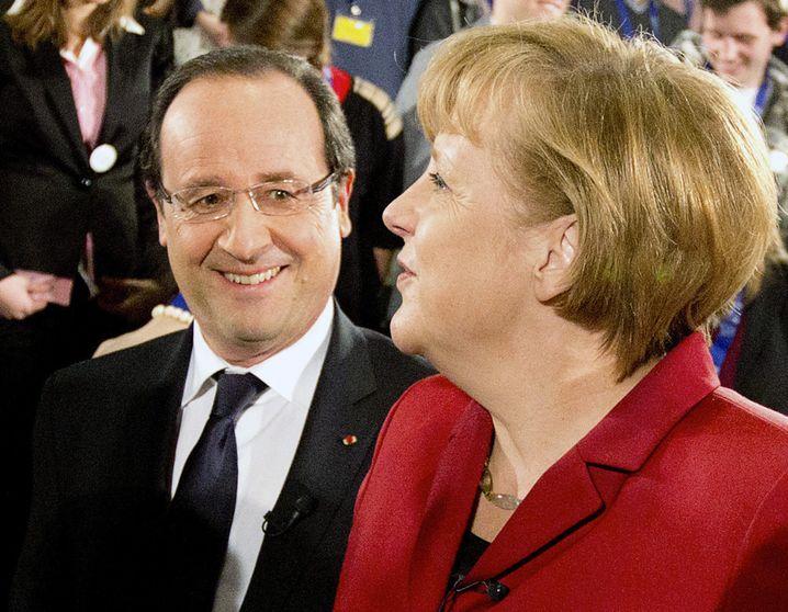 Hollande, Merkel: Gemeinsamer Vorschlag zum EU-Haushalt