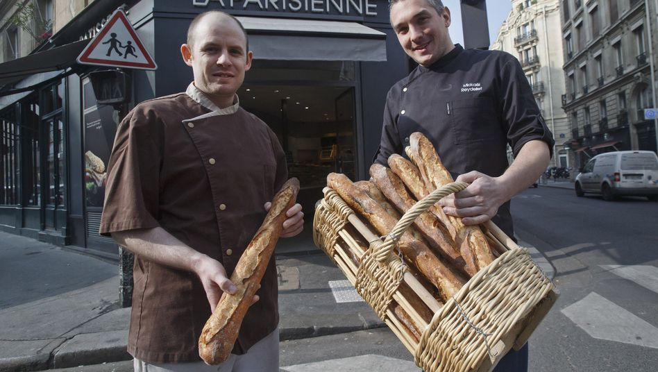 Boulangerie in Paris (Symbolbild): Die Franzosen wollen auf Bons für Kleinbeträge verzichten