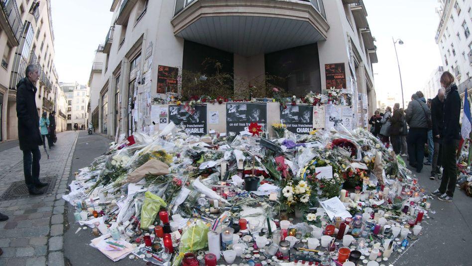 """Bürogebäude von """"Charlie Hebdo"""" in Paris: Freiheit ist kein Luxus"""