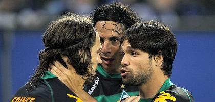 Werder-Star Diego (r.): Mit Juventus handelseinig