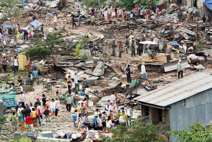 Slum in Phnom Penh (archive photo)