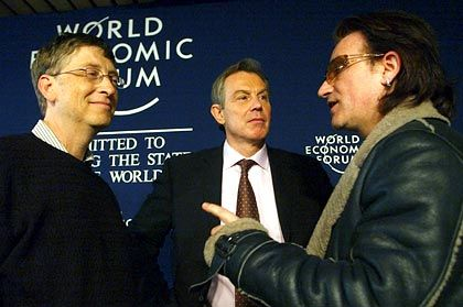 Bill Gates and Bono have both done what they can to raise awareness for the sufferings of Africa.