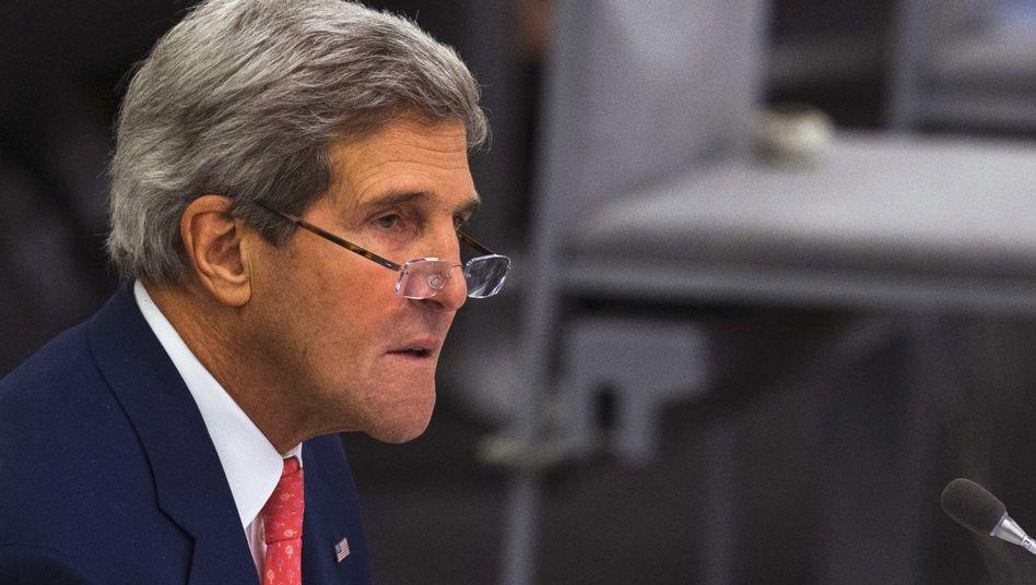 US-Außenminister Kerry: USA USA liefern Waffen weltweit an 170 Länder