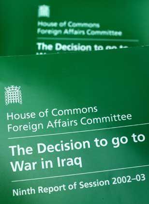 Umstrittener Irak-Report: Das dodgy dossier wurde frisiert