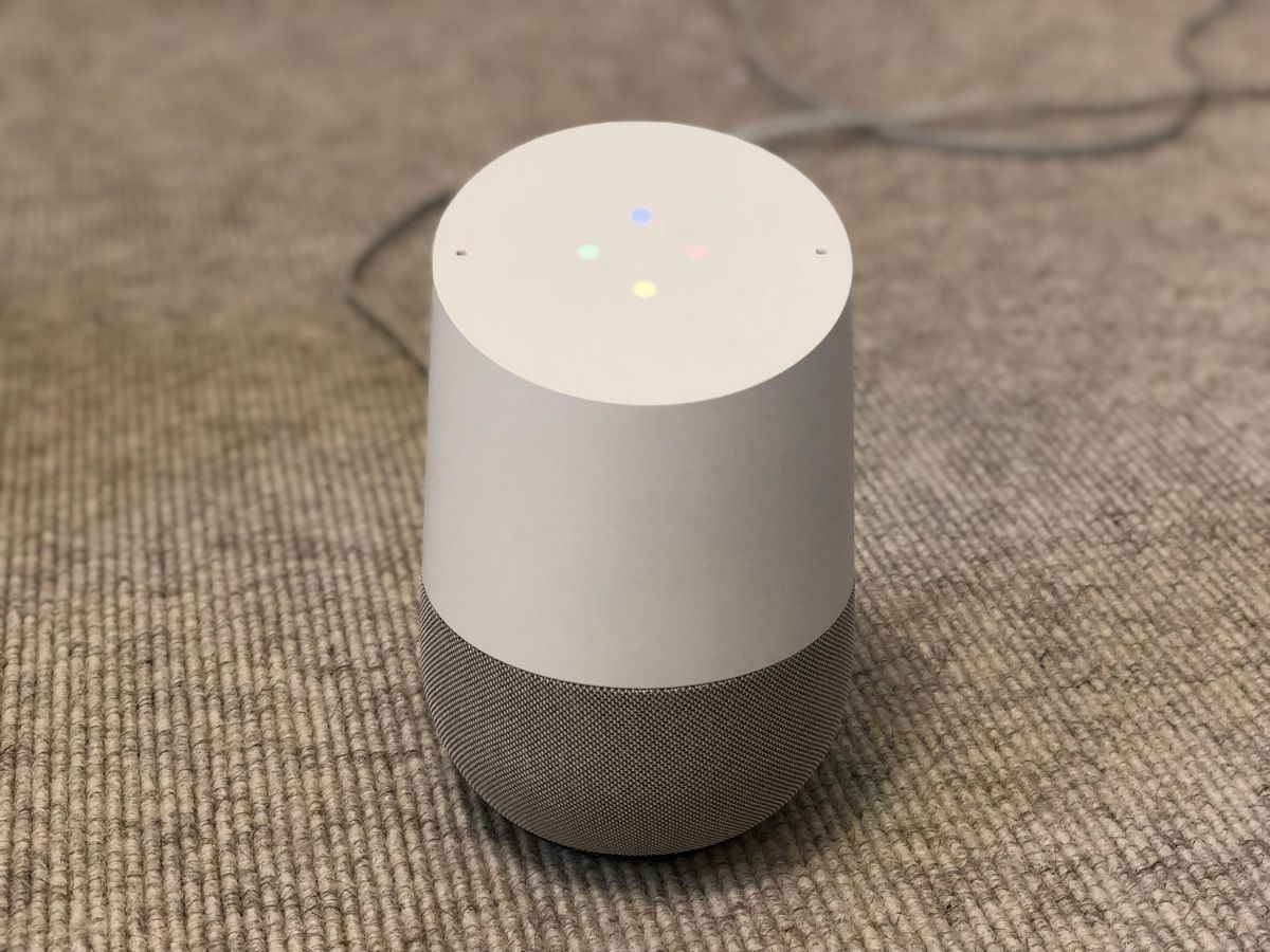 Digitale Assistenten/ Google Home 1