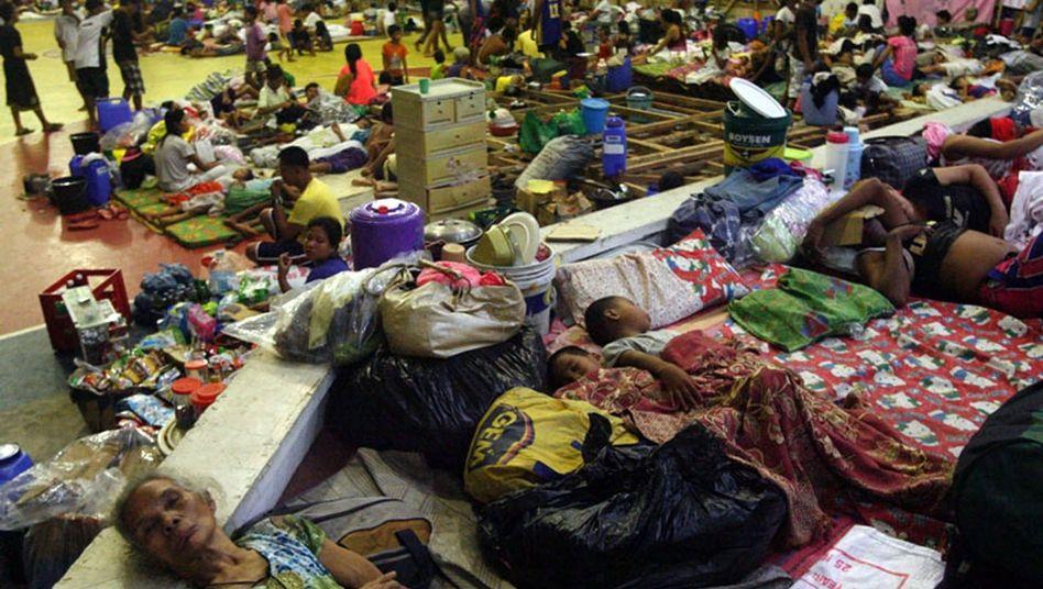 """Chaos durchWirbelsturm: Super-Taifun """"Haiyan"""" trifft die Philippinen"""