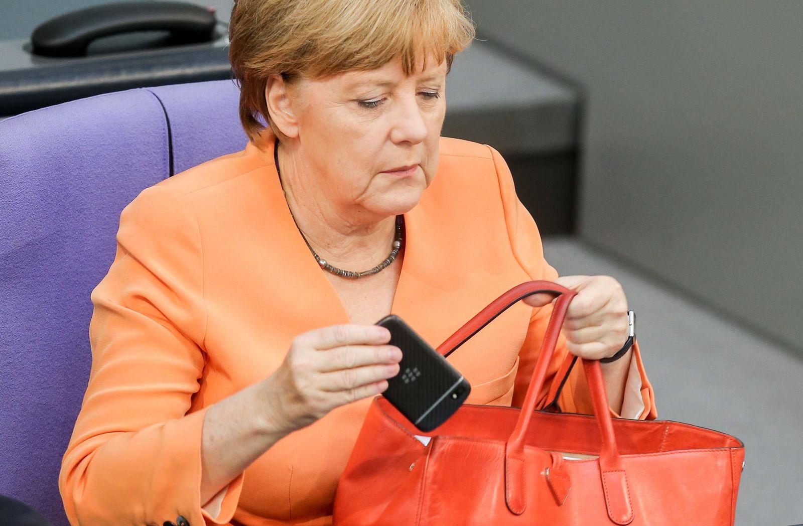Wikileaks: NSA Merkel