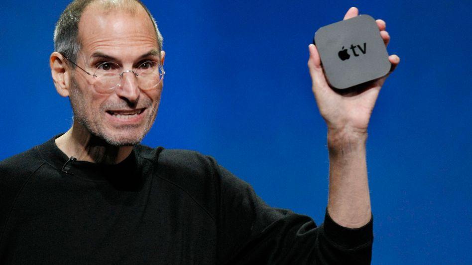Apple-Neuheiten: Steve Jobs poliert sein Online-TV