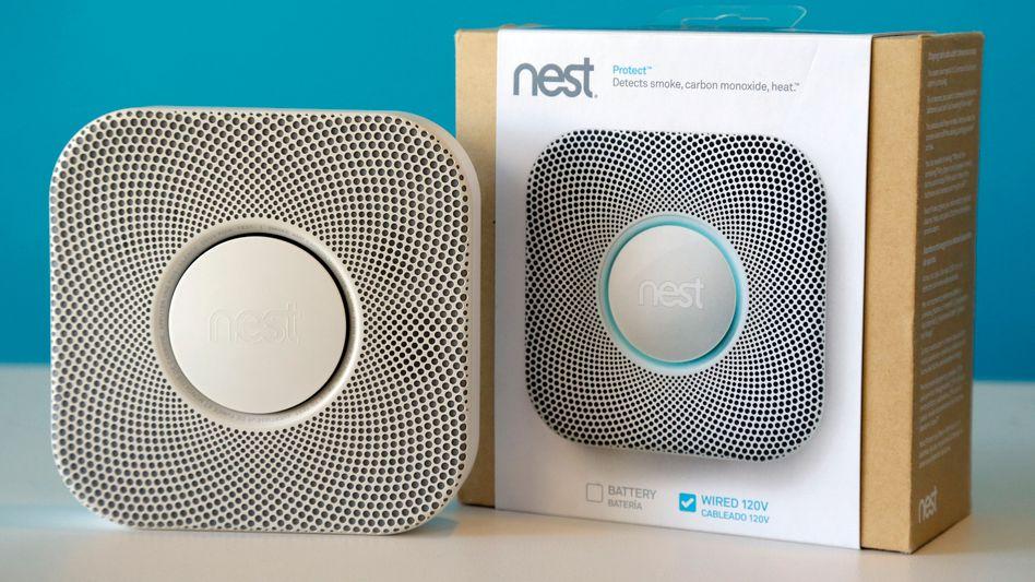 Rauchmelder von Nest Labs: Haushaltsgeräte im Apple-Design