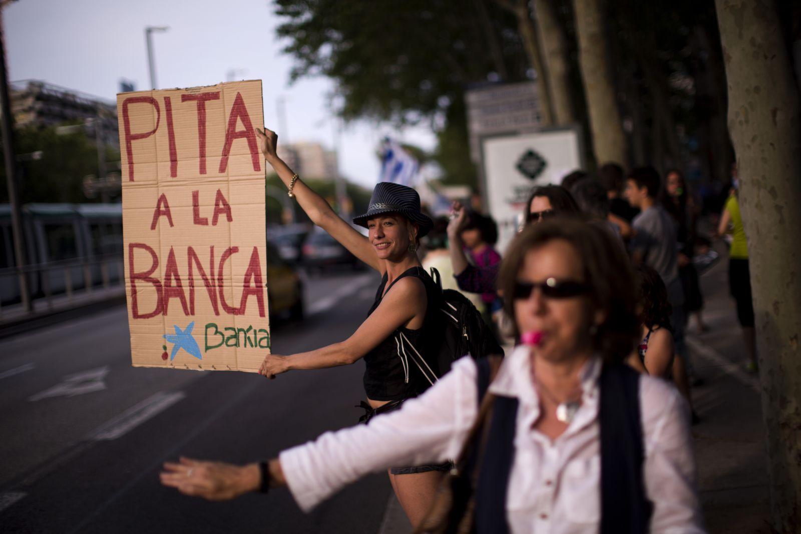 Spanien / Proteste