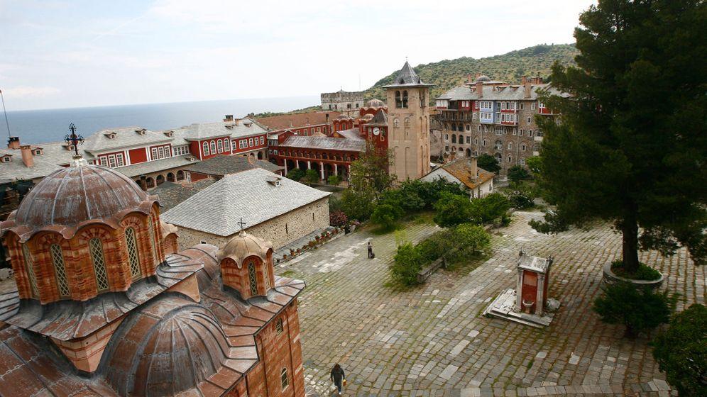 Klosterrepublik Athos: Frauen sind hier nicht erlaubt