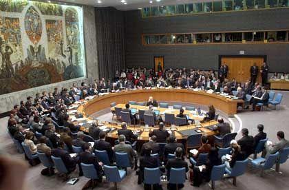 In der Irak-Frage tief gespalten: UN-Sicherheitsrat