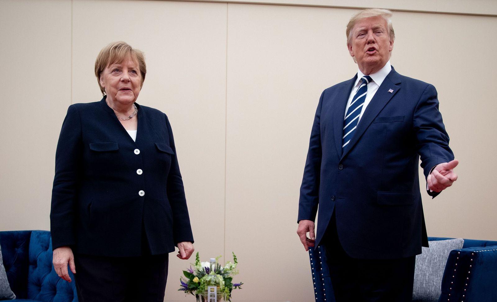 D-Day Merkel und Trump