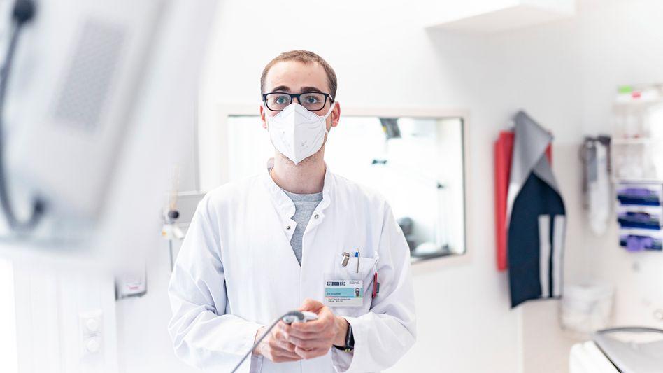 Eric Einspänner arbeitet als Medizinphysiker am Uniklinikum Magdeburg