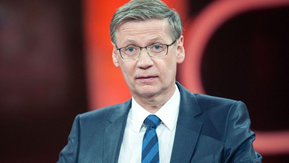 """Talkshow-Moderator Günther Jauch: """"Lauter Schuldzuweisungen"""""""