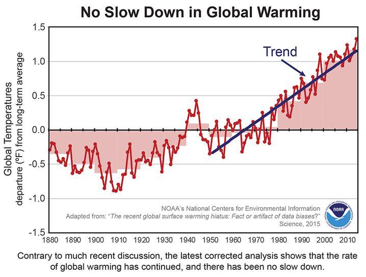 Neue Daten: Erwärmung ohne Pause (zum Vergrößern anklicken)