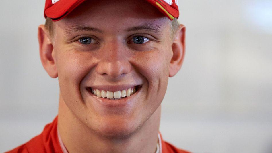 Auf den Spuren seines Vaters: Mick Schumacher