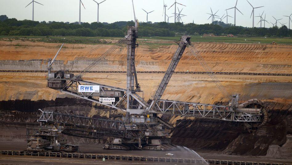 Braunkohletagebau Garzweiler, Windräder: Zeitenwende der Energiewirtschaft