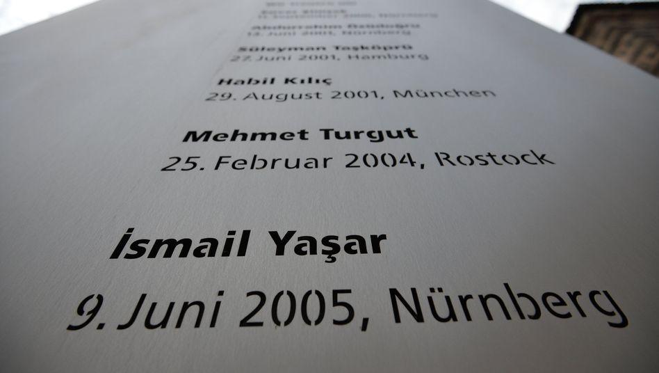 Gedenktafel für NSU-Opfer: Zeugin wurde nicht ernst genommen
