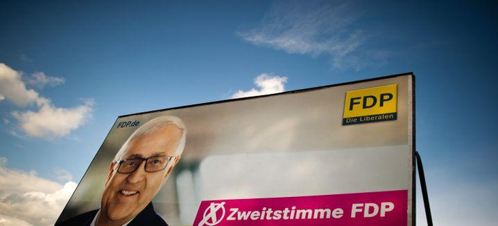 Für die FDP geht es bis Sonntag vor allem um Zweitstimmen
