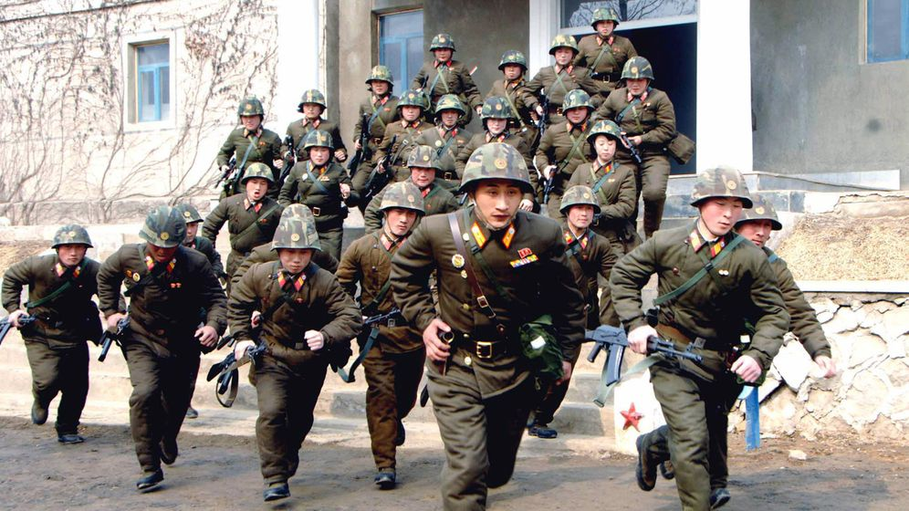 Pjöngjangs marode Armee: Kriegsgebrüll in Nordkorea