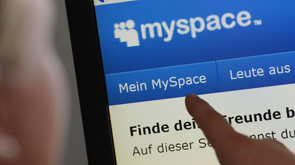 MySpace-Seite: Vom größten Online-Netzwerk der Welt auf Ramschstatus