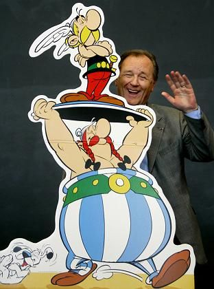 "Asterix, Obelix und Vater Uderzo: Weder ""Obeli-"" noch ""-ix"" exklusiv"