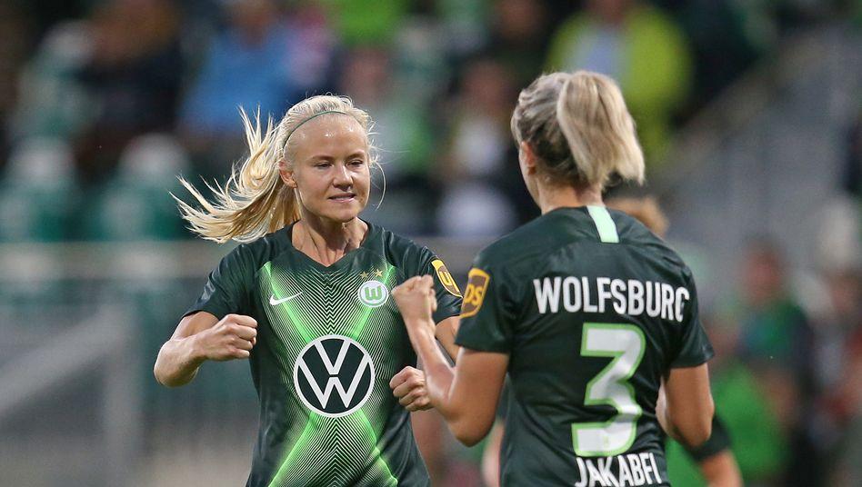 Pernille Harder schoss ihr 21. Tor in der laufenden Bundesliga-Saison (Archivbild)