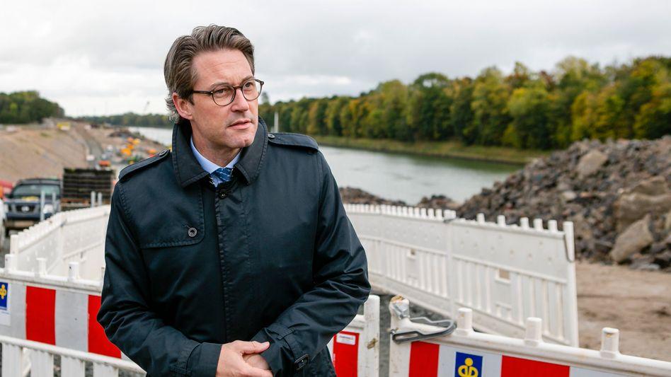 Andreas Scheuer: Der Anwalt des Verkehrsministers verweist auf eine bereits erfolgte Herausgabe von Korrespondenz aus dem Abgeordnetenpostfach