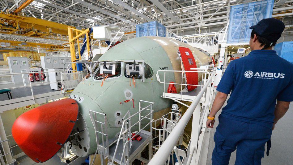 A350-Produktion in Toulouse (Archivbild)