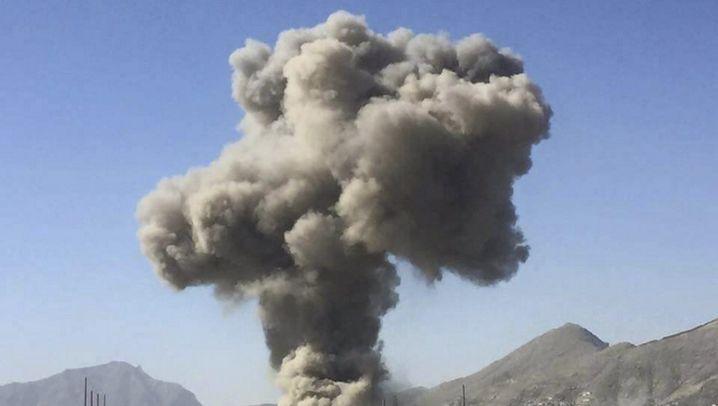 Afghanistan: Bombenanschlag in Kabul