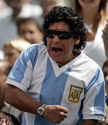 """Valdano-Freund Maradona: """"Sein Leben wurde in ein Spektakel verwandelt"""""""