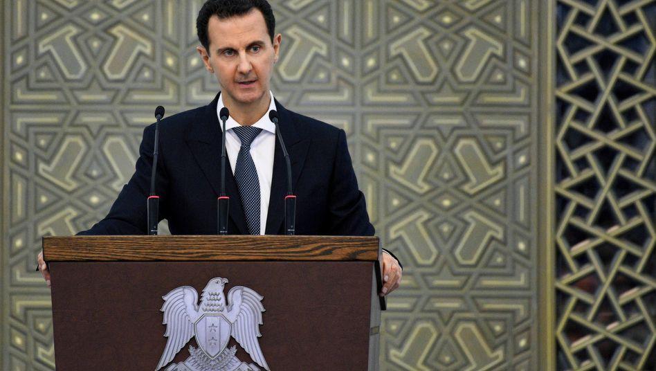 Syriens Machthaber Baschar al-Assad führt seit neun Jahren Krieg im eigenen Land