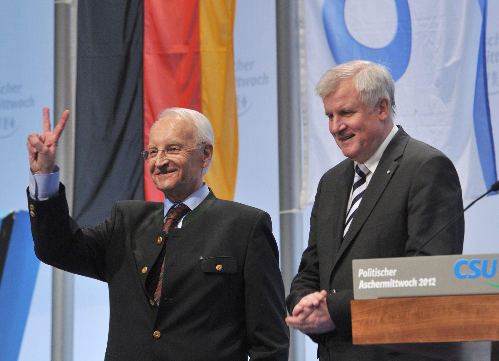 Edmund Stoiber / Horst Seehofer