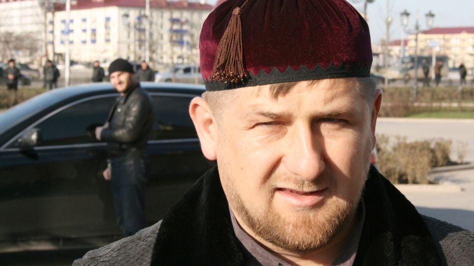 Der tschetschenische Präsident Kadyrow: Reaktion auf Zahlungen der USA