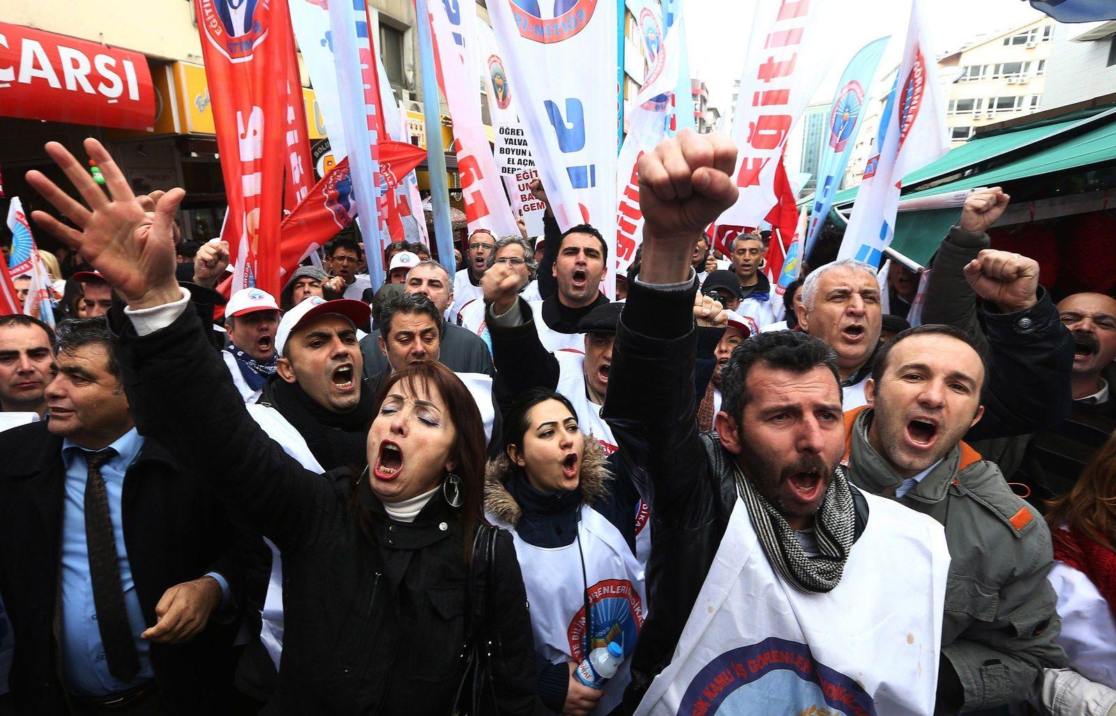 Türkei / Proteste gegen Regierung