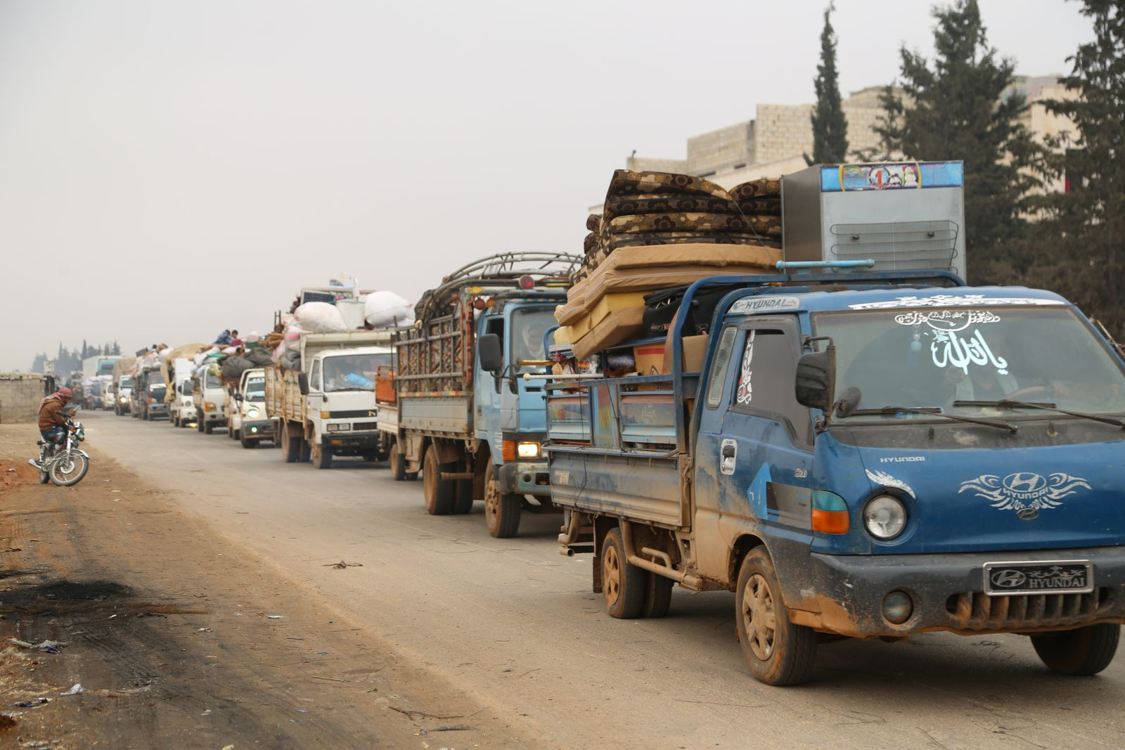 SYRIA-SECURITY/DISPLACED