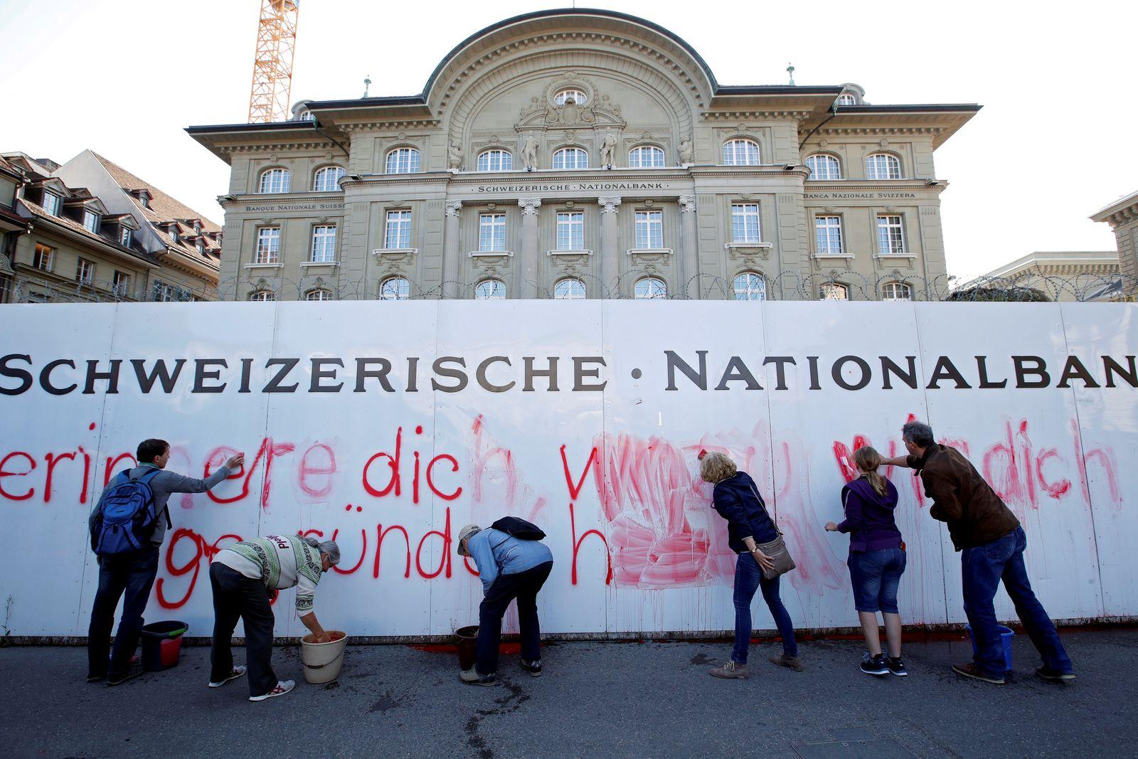 SNB Schweiz Vollgeld