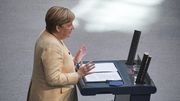 Merkel warnt vor Linksbündnis
