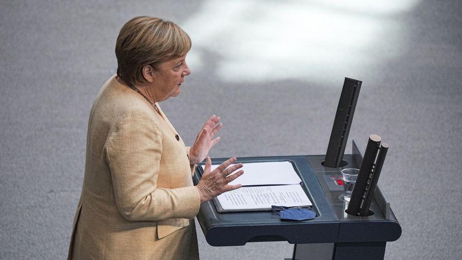 Bundeskanzlerin Angela Merkel: »Es ist nicht egal, wer dieses Land regiert«