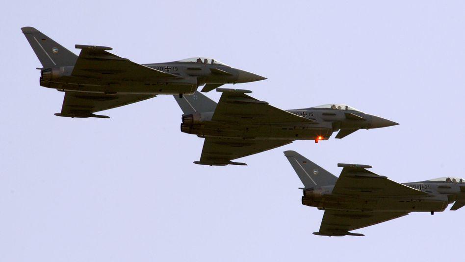 """Kampfjet """"Eurofighter"""": Qualitätsmangel Schleudersitz"""