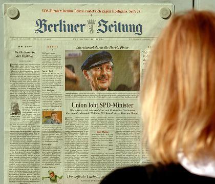 """Streitfall """"Berliner Zeitung"""": Mitarbeiter protestieren gegen Verkauf"""