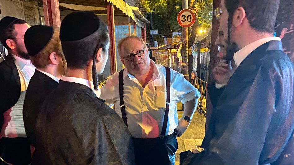 Autor Tenenbom in Jerusalem: »So einfach ist das«